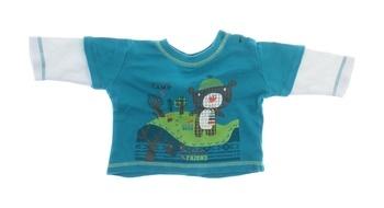 Dětské tričko George modré s medvědem