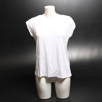 Dámské bílé tričko Pieces