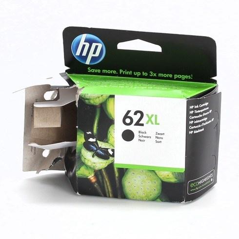 Inkoustová cartridge HP 62XL černá