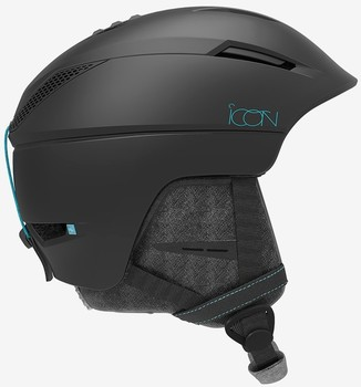 Lyžařská helma Salomon ICON2 M Black