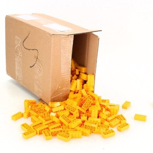 Stavebnice Simba 104118917 500 ks žluté