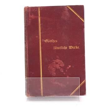 Kniha Goethes fämtliche Werke