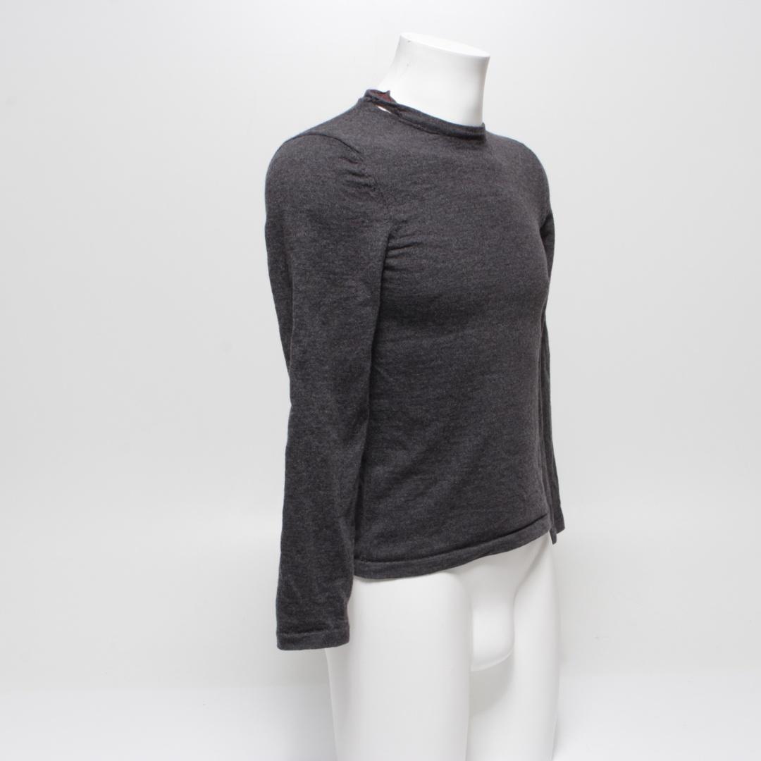 Pánský svetr Hugo Boss 50375140 šedý S
