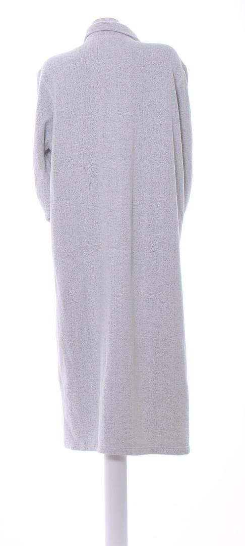 Dámský dlouhý kabát Orvis šedý