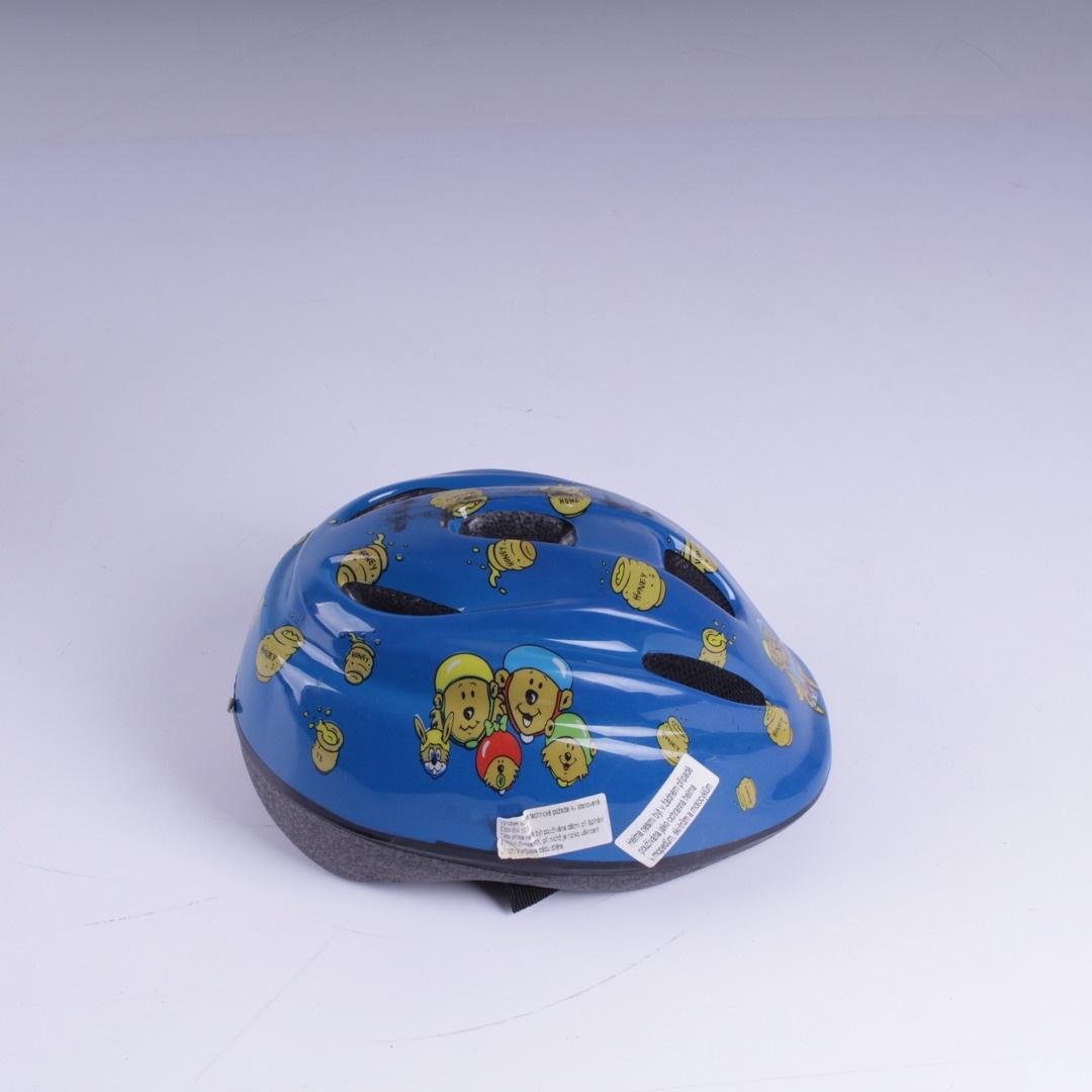 Dětská přilba Kinder Schutzhelm modrá