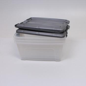 Plastový úloýžný Box Iris 3ks