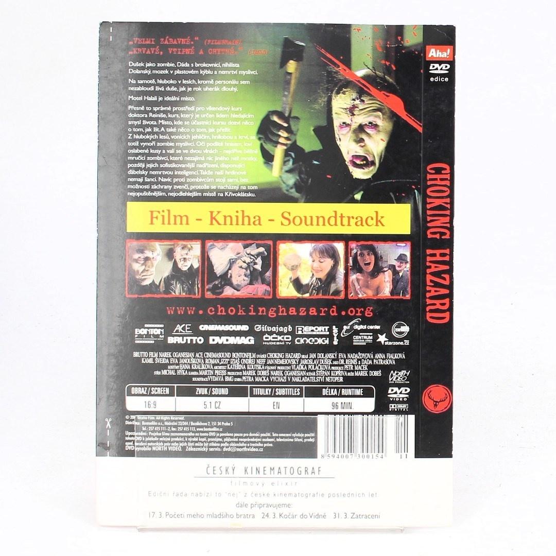DVD film: Choking hazard.