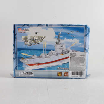3D puzzle Cubic Happy 9045 Super battleship
