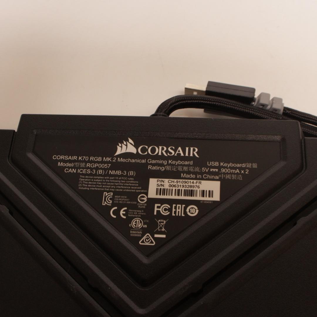 Klávesnice Corsair K70 MK.2 RGB FR