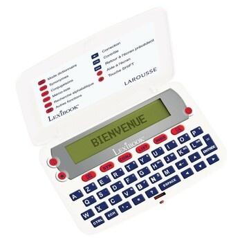 Slovník Lexibook D850FR s korekcí pravopisu