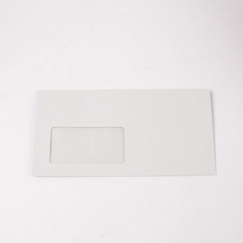 Obálka DL s okénkem bílá vlevo dole