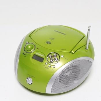 Přenosné rádio s CD přehrávačem Grundig