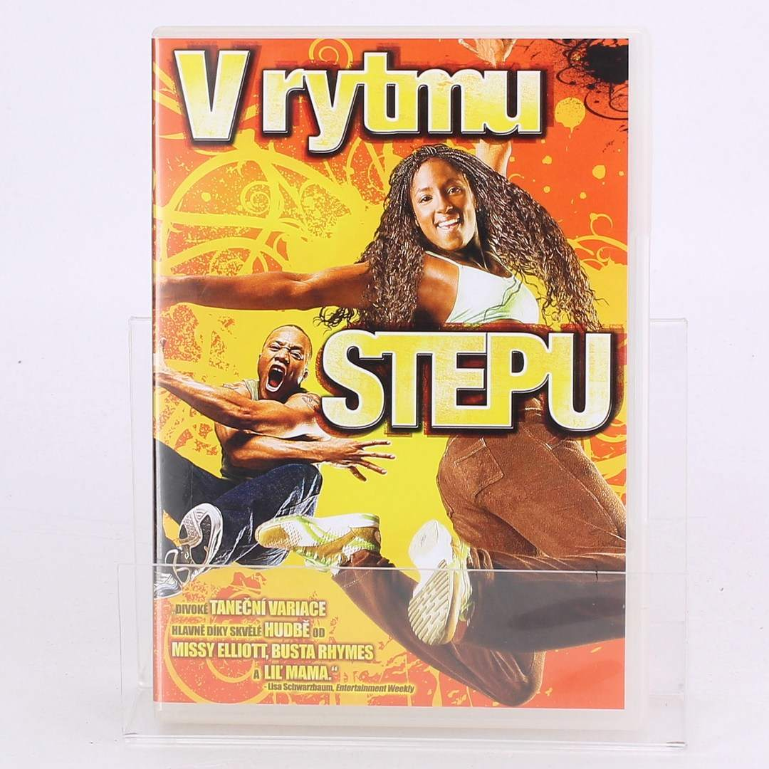 DVD film V rytmu STEPU