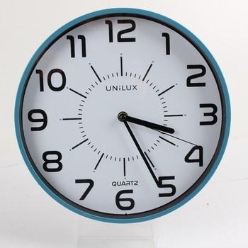 Nástěnné hodiny Unilux modré