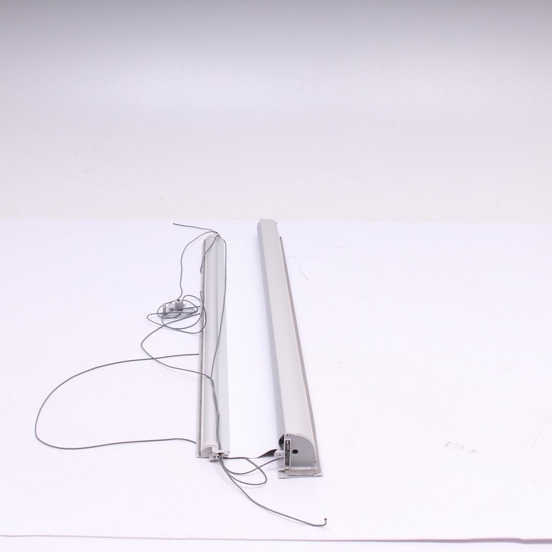 Roleta látková šedá 135 x 74 cm