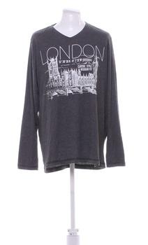 Pánské triko Livergy s potiskem London