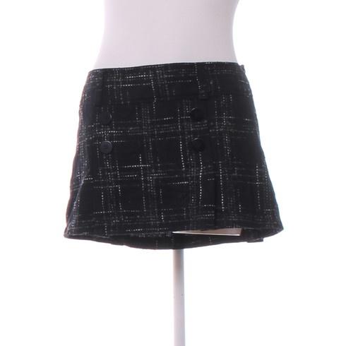 99a6d470c39 Dámská mini sukně C A černá - bazar