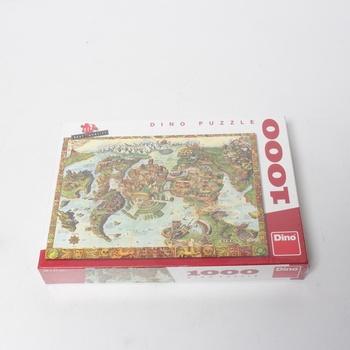 Puzzle DINO Atlantida 1000 dílků