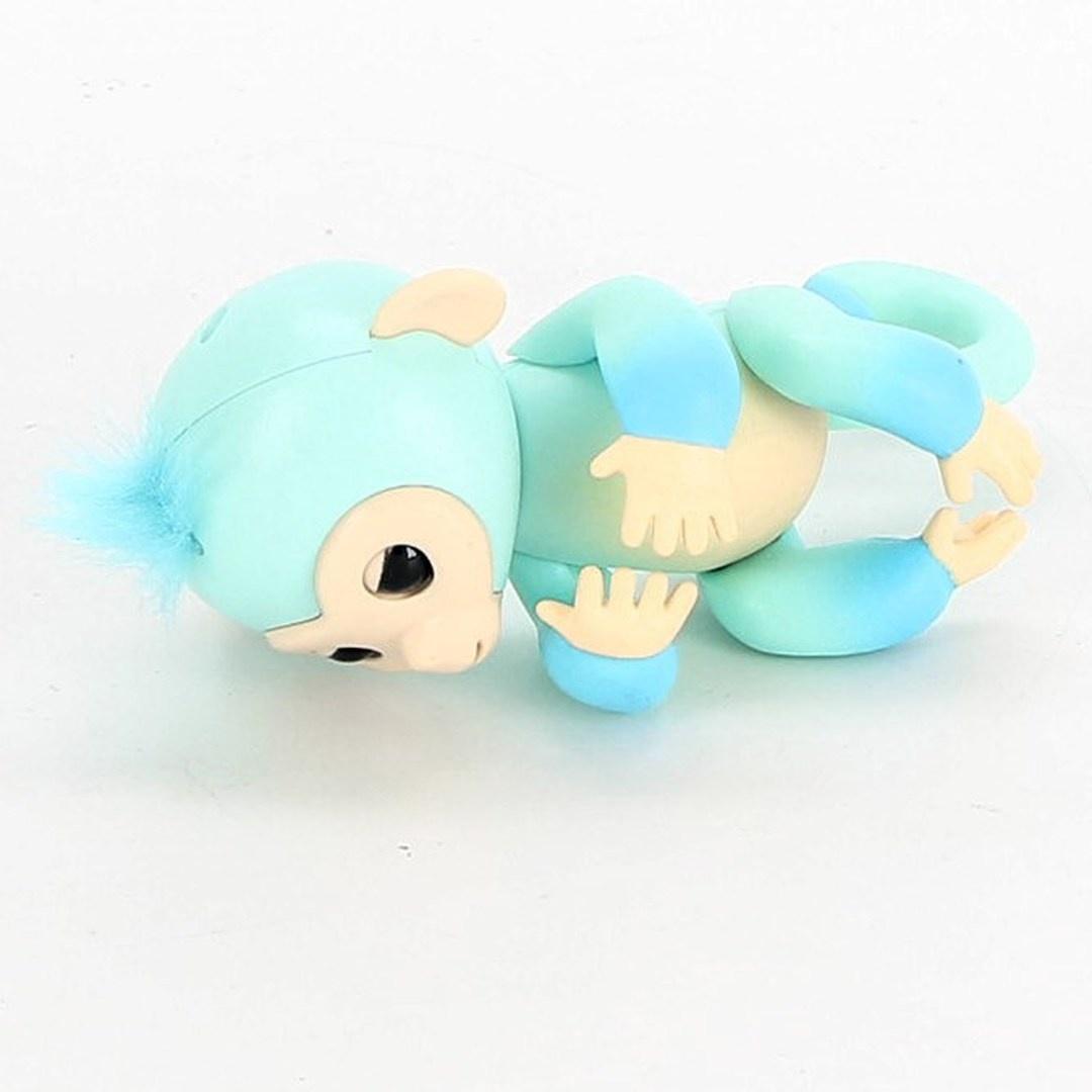Opička Fingerlings s modrou chocholkou