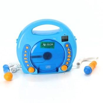 Zvuková hra X4-Tech Bobby Joey MP3 modrý
