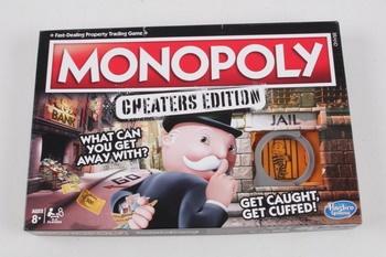 Desková hra Hasbro Gaming Monopoly Cheaters