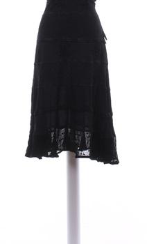 Dámská sukně černá krajková Kushi