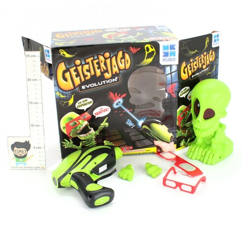 Elektronická hra Megableu Geisterjagd NĚM