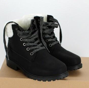 Dámské zimní boty Hitmars 9320XSBK/36-Reu