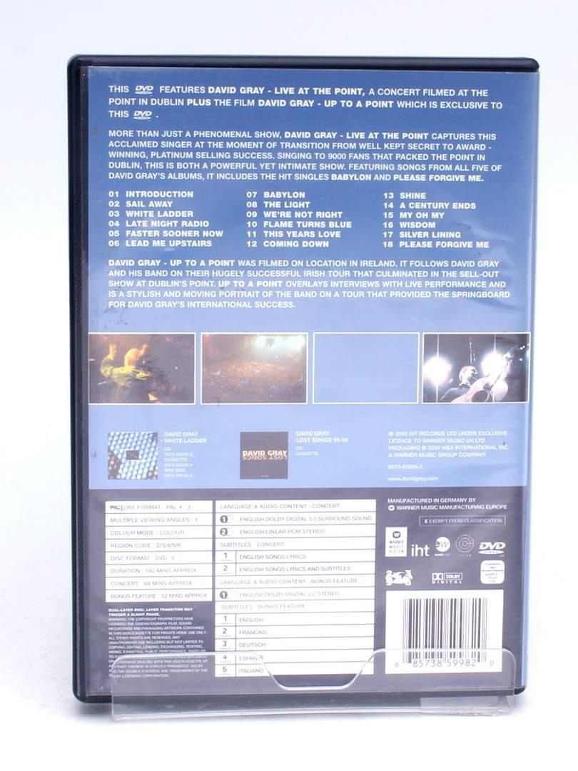 DVD Warner Bros Live David Gray