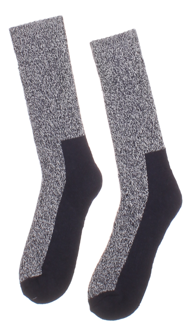 Pánské ponožky vysoké dvoubarevné