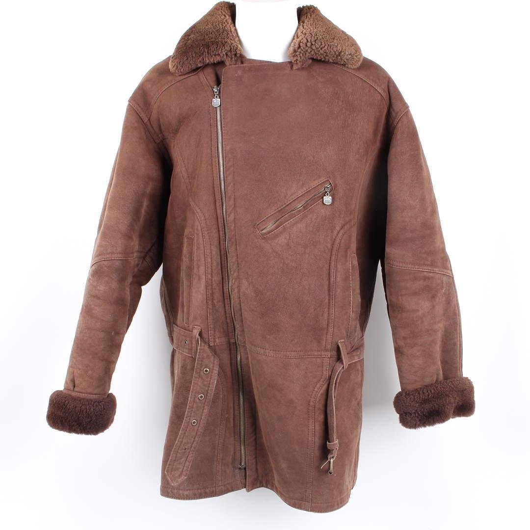 Pánský kožený kabát Elaza