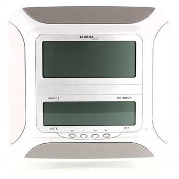 Digitální hodiny Technoline bílé