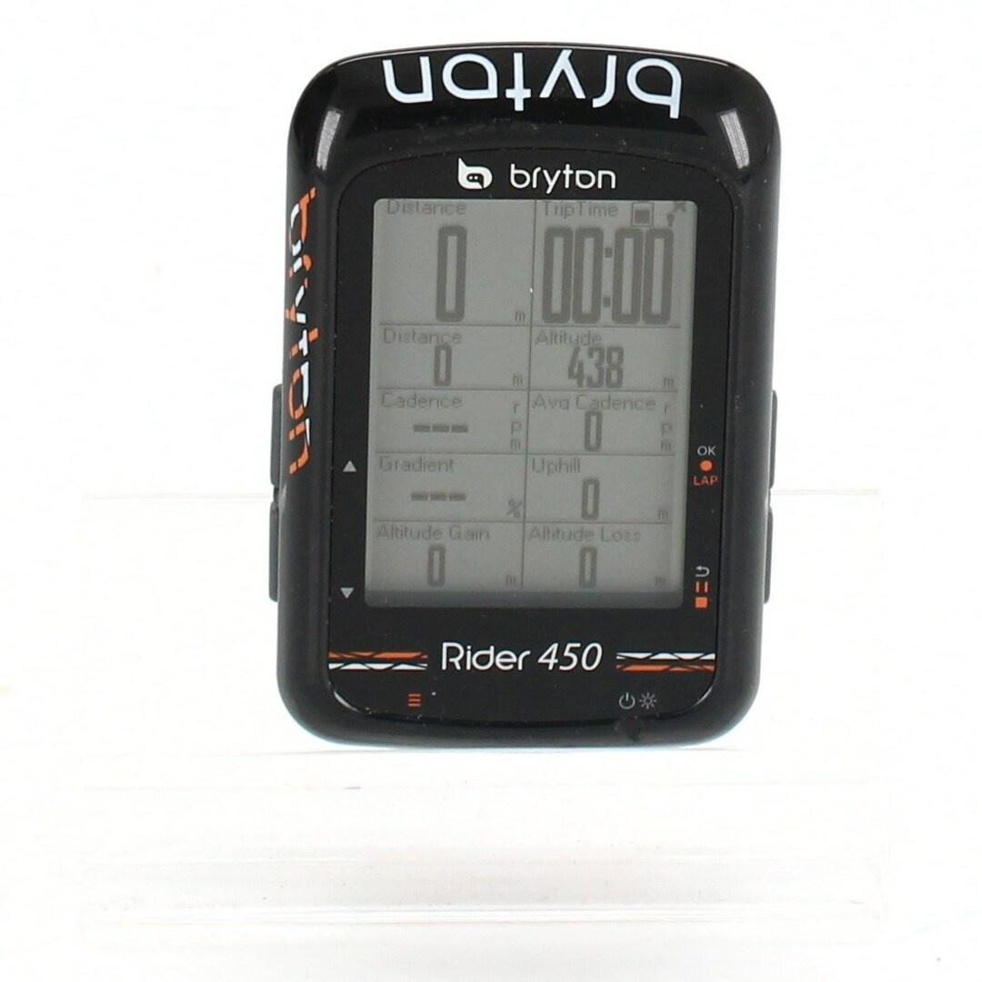 Cyklocomputer Bryton Rider 450