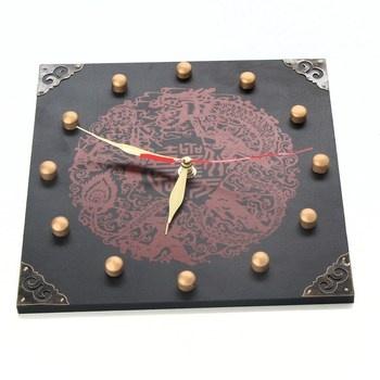 Nástěnné hodiny Lachineuse Spirit of Asia