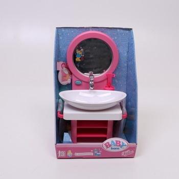 Umyvadlo se zrcadlem Zapf creation Baby born