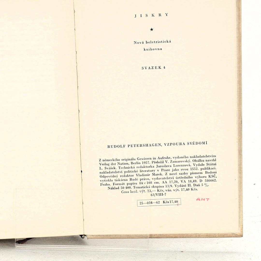 Kniha Rudolf Petershagen: Vzpoura svědomí