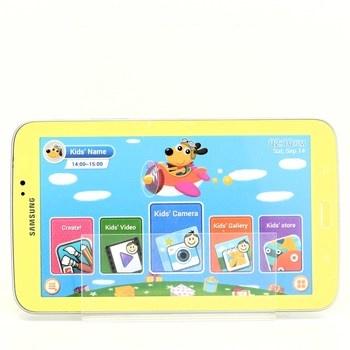 Tablet Samsung maketa žlutý