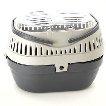 Transportní box Trixie Pico šedo-šedý