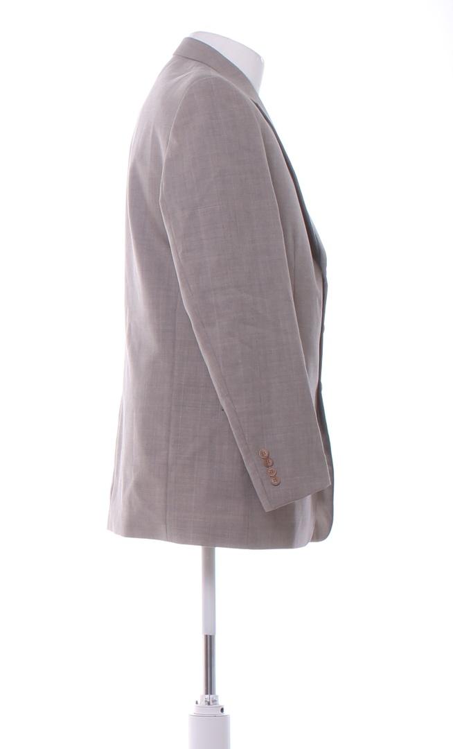 Pánské sako Lare světle šedé