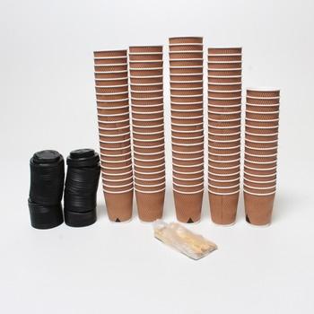 Kelímky na kávu CupCup 110 kusů