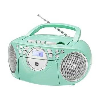 Rádio-CD magnetofon DUAL P70 zelený