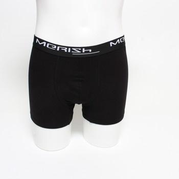 Pánské boxerky Merish černé 12 ks