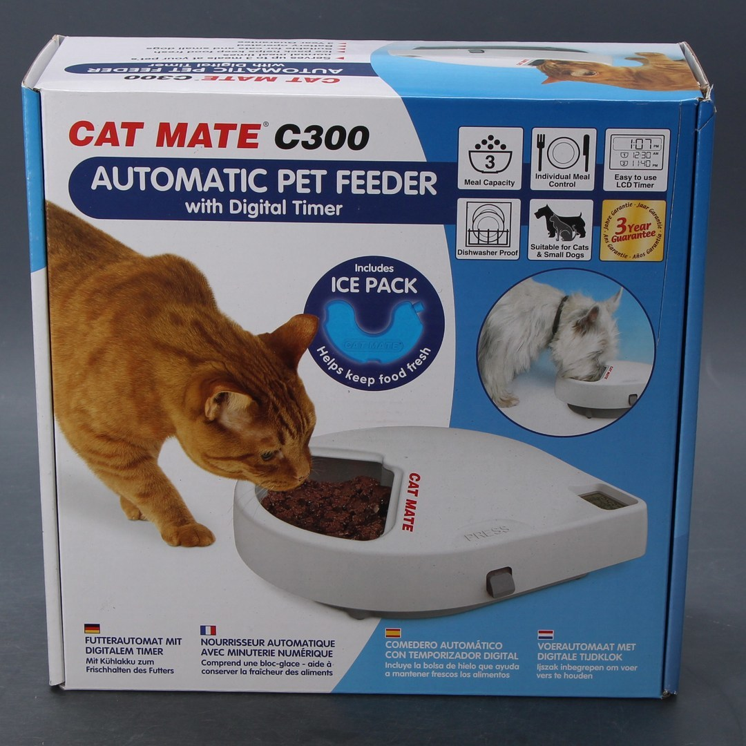 Automatické krmítko Cat mate C300