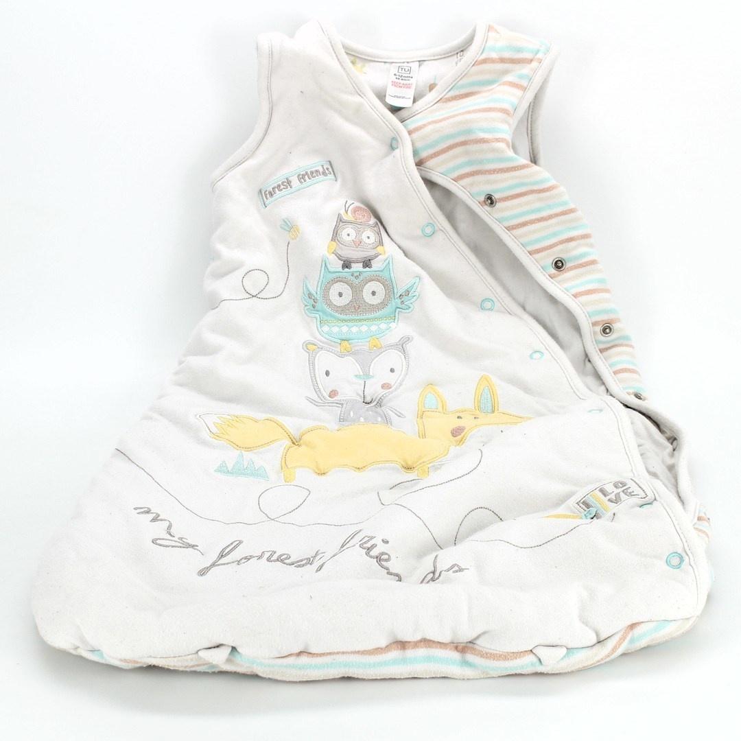Dětský spací vak TU se zvířátky