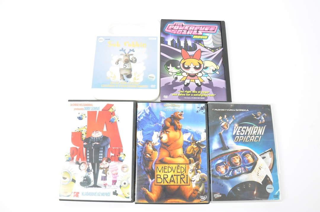 5x DVD - Já, padouch, Sob Robbie a další