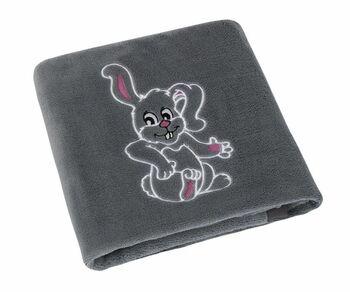 Dětská deka Bellatex s výšivkou zajíčka