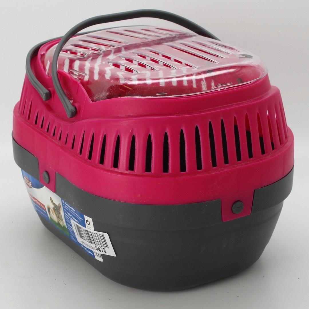 Transportní box Trixie Pico červeno-černý