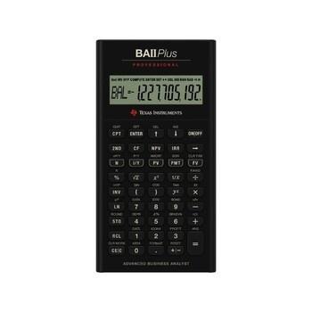 Kalkulačka Texas Instruments BA II Plus