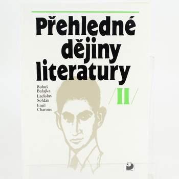 Kniha Přehledné dějiny literatuy II.