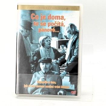 DVD film: Co je doma to se počítá, pánové...